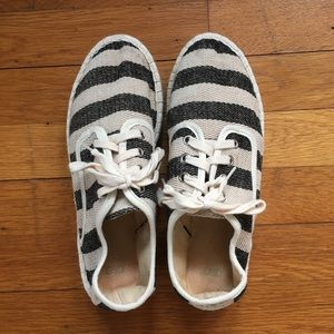 ASOS Canvas Lace Up Espadrilles Like New
